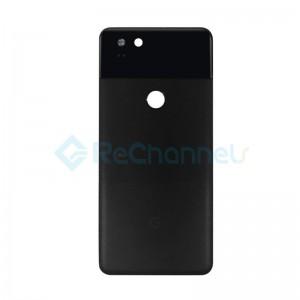 For Google Pixel 2 XL Battery Door Replacement - Black - Grade S+