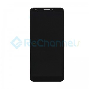 For Google Pixel 3a XL LCD Screen and Digitizer Assembly Replacement - Black - Grade S+