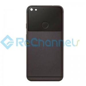 For Google Pixel Battery Door Replacement - Black - Grade S+