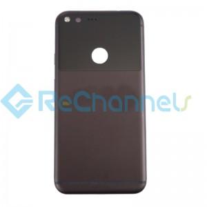 For Google Pixel XL Battery Door Replacement - Black - Grade S+