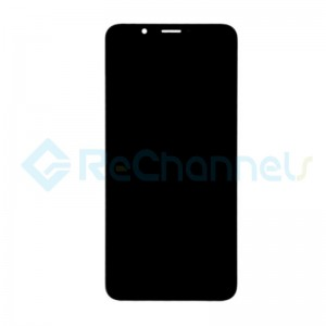 For Huawei Honor 7C LCD Screen and Digitizer Assembly with Front Housing Replacement - Black - Grade S