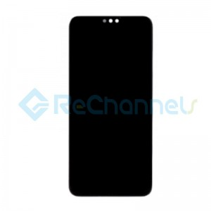 For Huawei Honor 8X LCD Screen and Digitizer Assembly Replacement - Black - Grade S+