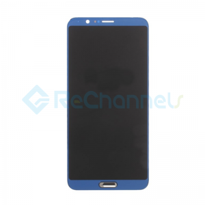 For Huawei Honor View 10 LCD Screen and Digitizer Assembly Replacement - Blue - Grade S+