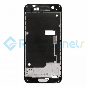 For HTC One A9 Front Housing Replacement - Black - Grade S+