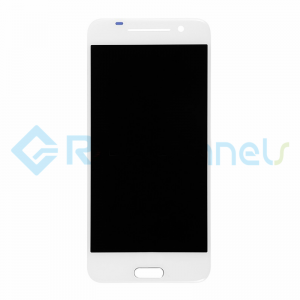 For HTC One A9 LCD Screen and Digitizer Assembly Replacement - White - With Logo - Grade S+