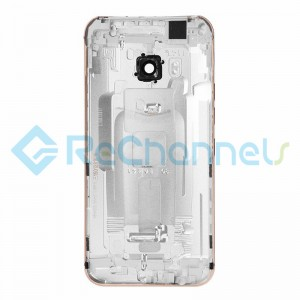 For HTC One M9 Rear Housing Replacement - Silver - Grade S+