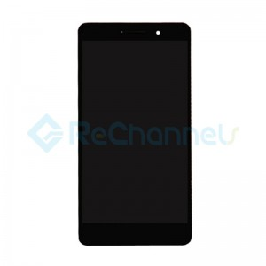 For Huawei Honor 7 LCD Screen and Digitizer Assembly with Front Housing Replacement - Black - Grade S+