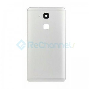 For Huawei Mate 7 Battery Door Replacement - White - Grade S+