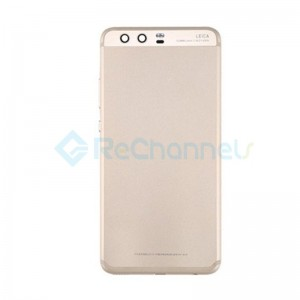 For Huawei P10 Plus Battery Door Replacement - Gold - Grade S+