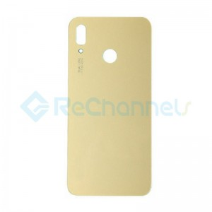 For Huawei P20 Battery Door Replacement - Gold - Grade S+