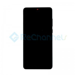 For Huawei P30 LCD Screen and Digitizer Assembly with Front Housing Replacement - Breathing Crystal - Grade S+