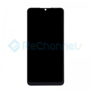 For Huawei P30 Lite LCD Screen and Digitizer Assembly with Front housing Replacement - Midnight Black - Grade S+ (FHD-B Version)