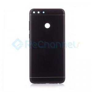 For Huawei P Smart 2019 Battery Door Replacement - Black - Grade S+
