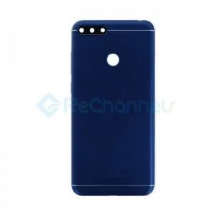 For Huawei Honor 7A Battery Door Replacement - Blue - Grade S+