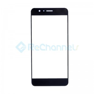 For Huawei Honor 8 Front Glass Lens Replacement - Black - Grade S+