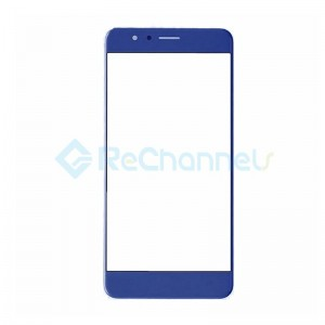 For Huawei Honor 8 Front Glass Lens Replacement - Blue - Grade S+