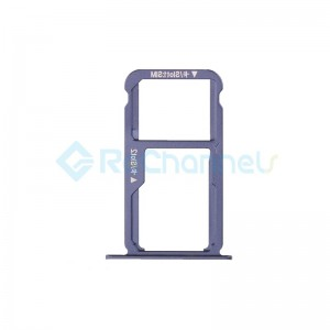 For Huawei Honor 8 SIM Card Tray Replacement - Blue - Grade S+