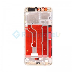 For Huawei Honor 8 Front Housing LCD Frame Bezel Plate Replacement - White - Grade S+