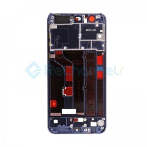 For Huawei Honor 8 Front Housing LCD Frame Bezel Plate Replacement - Blue - Grade S+