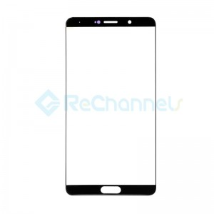 For Huawei Mate 10 Front Glass Lens Replacement - Black - Grade S+