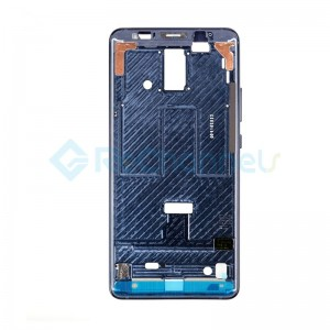 For Huawei Mate 10 Pro Front Housing LCD Frame Bezel Plate Replacement - Midnight Blue - Grade S+