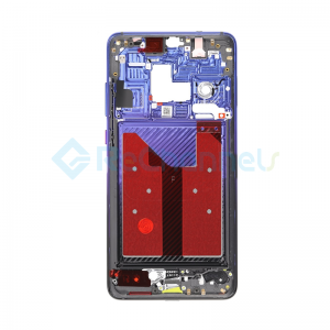 For Huawei Mate 20 Front Housing LCD Frame Bezel Plate Replacement -Twilight - Grade S+