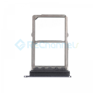 For Huawei Mate 20 SIM Card Tray Replacement - Black - Grade S+