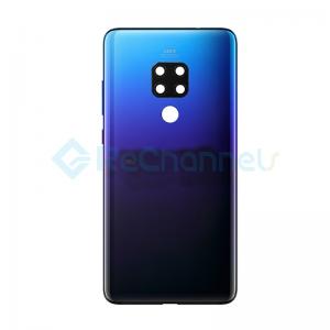 For Huawei Mate 20 Battery Door Replacement - Twilight - Grade S+