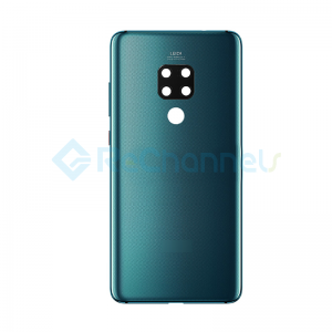 For Huawei Mate 20 Battery Door Replacement - Emerald Green - Grade S+