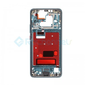 For Huawei Mate 20 Pro Front Housing LCD Frame Bezel Plate Replacement - Emerald Green - Grade S+