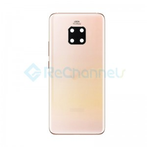 For Huawei Mate 20 Pro Battery Door Replacement - Cherry Gold - Grade S+