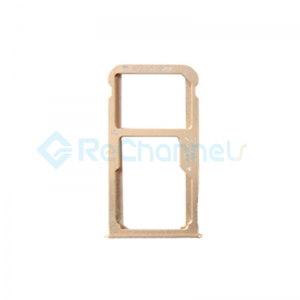 For Huawei Mate 8 SIM Card Tray Replacement - Gold - Grade S+