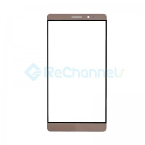For Huawei Mate 8 Front Glass Lens Replacement - Macha Brown - Grade S+