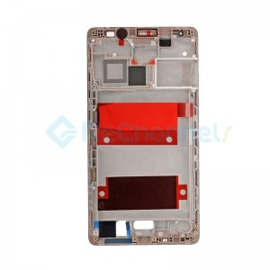 For Huawei Mate 8 Front Housing LCD Frame Bezel Plate Replacement - Macha Brown - Grade S+