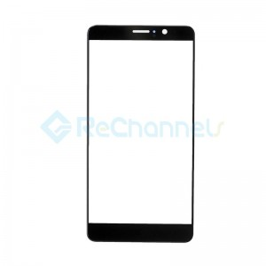 For Huawei Mate 9 Front Glass Lens Replacement - Black - Grade S+
