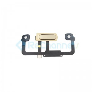 For Huawei Mate 9 Pro Home Button Flex Cable Replacement - Gold - Grade S+