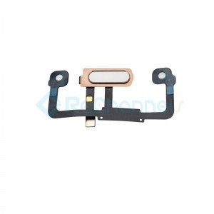 For Huawei Mate 9 Pro Home Button Flex Cable Replacement - Rose Gold - Grade S+
