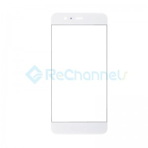 For Huawei P10 Front Glass Lens Replacement - White - Grade S+