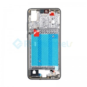 For Huawei P20 Front Housing with Frame Replacement - Midnight Blue - Grade S+