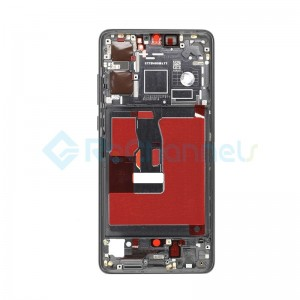 For Huawei P30 Rear Housing Replacement - Black - Grade S+