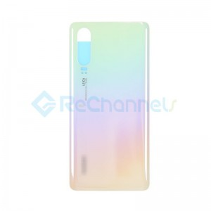 For Huawei P30 Battery Door Replacement - Pearl White - Grade S+