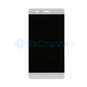 For Huawei P9 LCD Screen and Digitizer Assembly Replacement - White - Grade S+