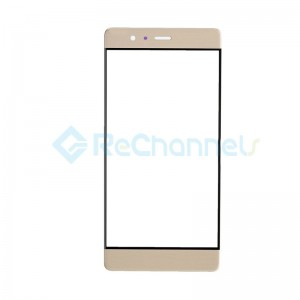 For Huawei P9 Front Glass Lens Replacement - Gold - Grade S+