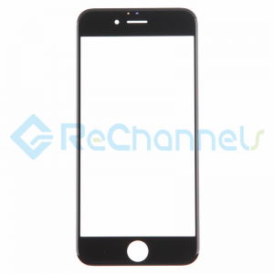 For Apple iPhone 6 Plus/6S Plus Glass Lens Replacement - Black - Grade S+