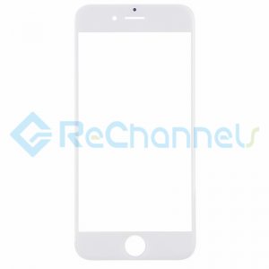For Apple iPhone 6 Plus/6S Plus Glass Lens Replacement - White - Grade R