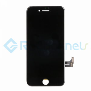 For Apple iPhone 7 LCD Screen and Digitizer Assembly with Frame Replacement - Black - Grade R+