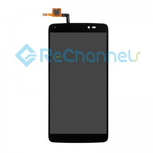 For Alcatel Idol 3 LCD Screen and Digitizer Assembly Replacement (5.5 inches) - Black - Grade S
