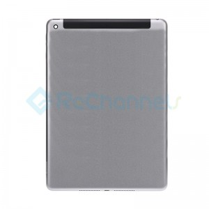 For iPad (5th Gen) Rear Housing Replacement (Wi-Fi + Cellular) - Space Gray - Grade S