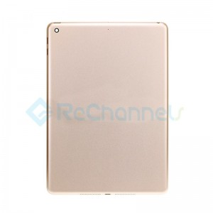 For iPad (5th Gen) Rear Housing Replacement (Wi-Fi) - Gold - Grade S