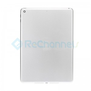 For iPad (5th Gen) Rear Housing Replacement (Wi-Fi) - Silver - Grade S